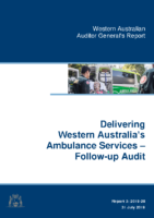 Auditor General Ambulance Service Report Follow Up